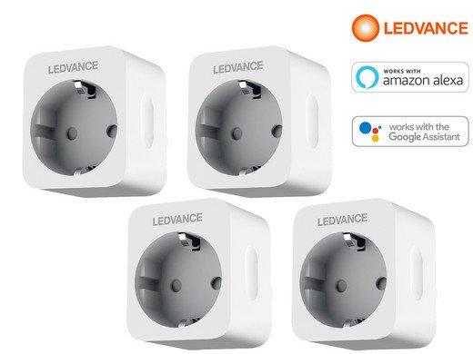 4x Ledvance Smart+ WLAN-Steckdose (Google Assistant, Alexa) für 28,90€ inkl. Versand (statt 36€)