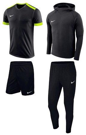 4-teiliges Nike Premium Trainingsset (Hoodies, Hose, Trikot, Shorts) für 58,95€