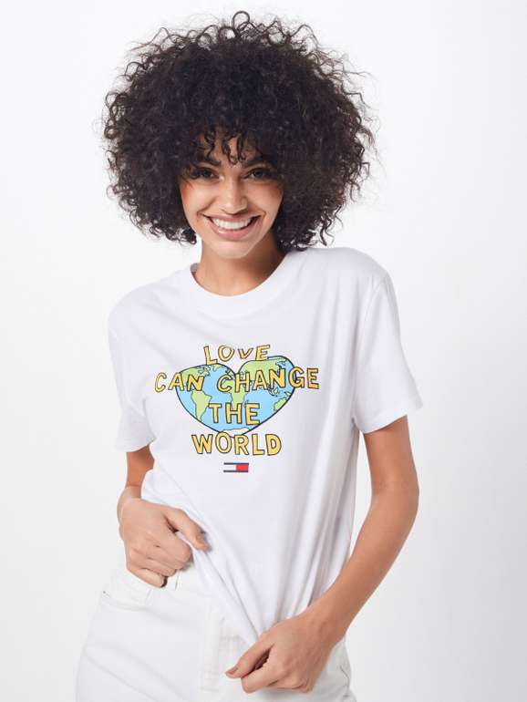"Tommy Jeans T-Shirt 'Positive Tee"" für 25,42€ inkl. VSK (statt 40€)"