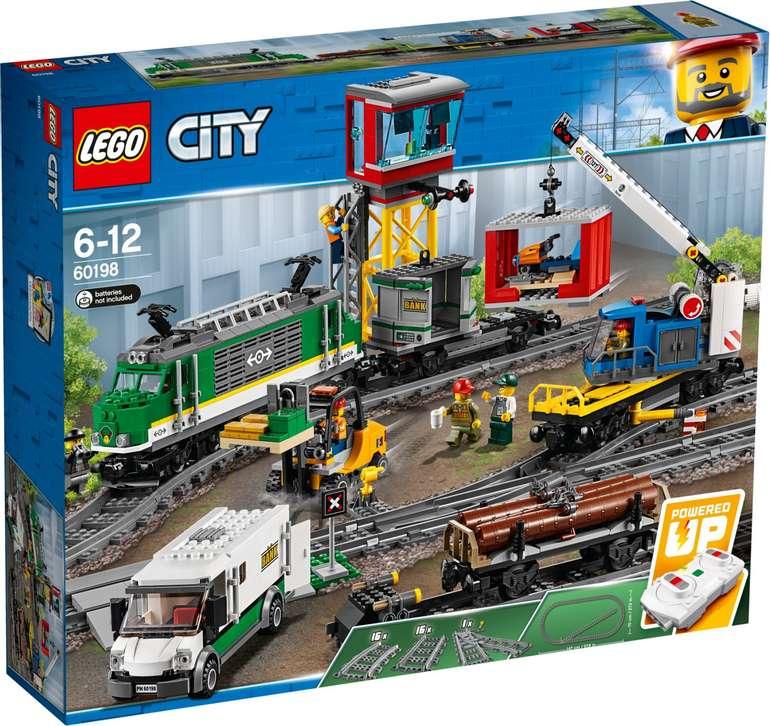 Amazon: 3-für-2 Aktion auf Lego-Sets, z.B. Auto-Transporter + Güterzug + Personenzug für 248,90€ (statt 336€)