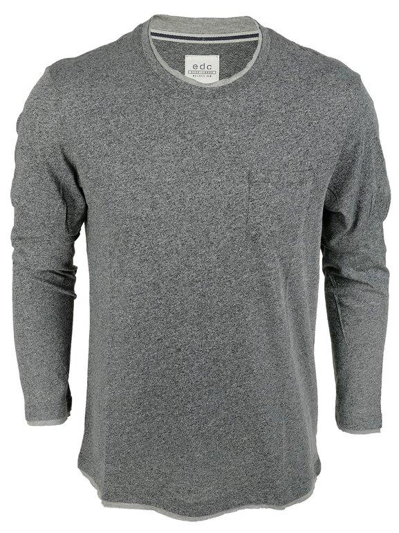 edc by Esprit Herren-Langarmshirt für 14,95€ inkl. Versand (Nur Größe L)