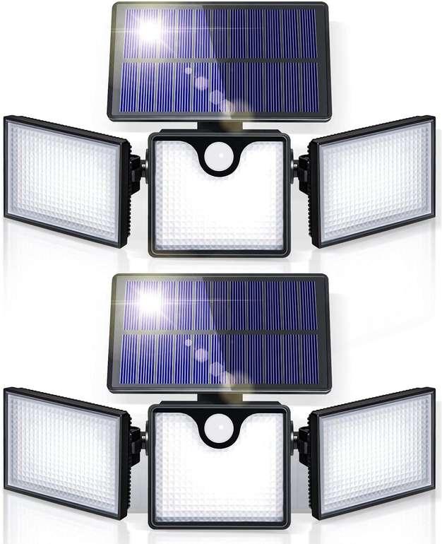 Giantarm 2er Pack Solarlampen mit Bewegungssensor für 28,99€ inkl. Versand (statt 42€)