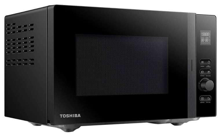 Toshiba MV-AM20T (BK) Mikrowelle (20 Liter, 800 Watt, 5 Leistungsstufen, 12 Programme) für 79,90€