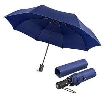 Boy Sturmregenschirm in Blau oder Rot für 12,50€ inkl. Versand