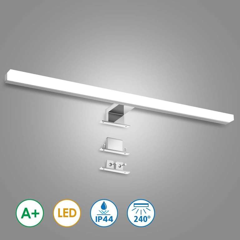 KingSo - 12W LED Spiegelleuchte mit 60cm für 19,79€ inkl. Versand (statt 32€)