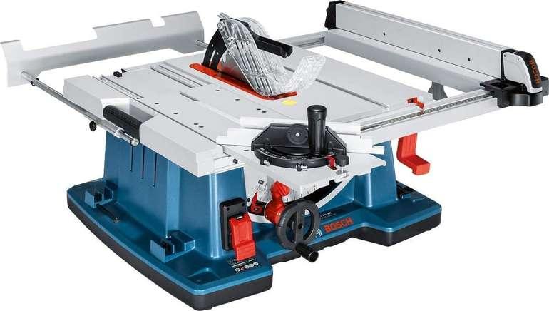 Bosch Tischkreissäge GTS 10 XC (2.100 Watt, Sägeblatt-Ø: 254 mm) für 599,95€ inkl. Versand (statt 668€)