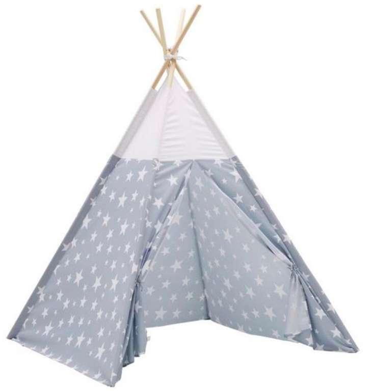 Star Indianer Zelt in Grau Ø ca. 120cm für 20,96€ (statt 33€)