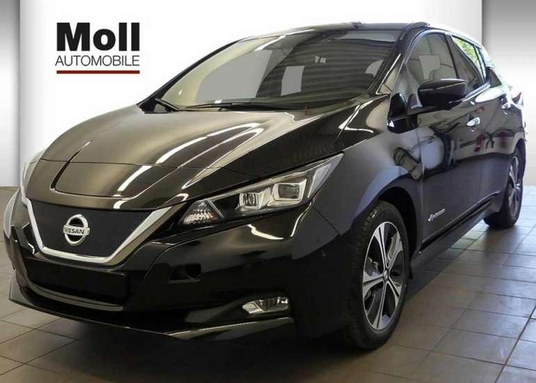Gewerbeleasing: Nissan Leaf mit 150 PS für 90,02€ netto mtl. (BAFA, LF: 0.29, Überführung: 990€)
