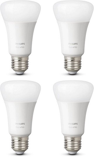 4er Pack Philips Hue White E27 Lampen (Bluetooth) für 40,98€ inkl. VSK
