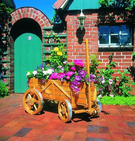 Promadino Blumen Deko-Bollerwagen für 114,74€ inkl. Versand (statt 134€)