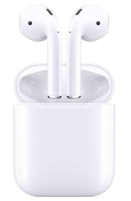 Apple Air Pods Generation 2 + Charging Case Bluetooth mit 36 Monaten Garantie durch Kundenkarte für 126,50€ inkl. Versand