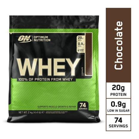 4kg Optimum Nutrition Whey Protein (Schokolade) für 35,34€ (statt 52€) - Newsletter Gutschein!