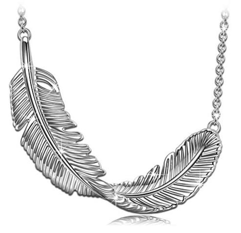 Princess Nina Damen Halskette aus 925 Silber + Geschenkbox zu 14,99€ (statt 30€)