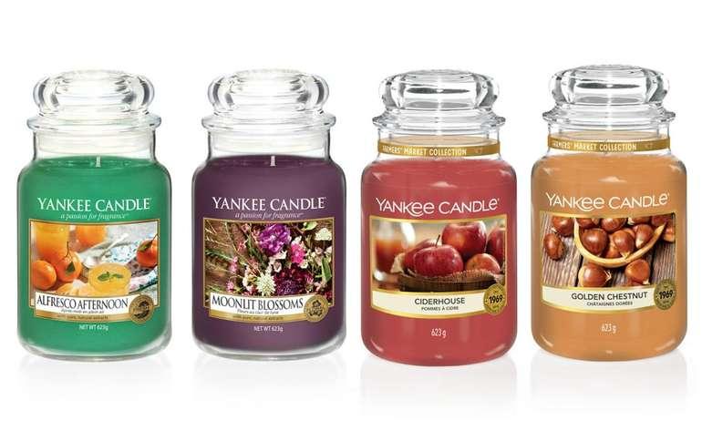 Yankee Candles im 4er Pack (je 623 Gramm) für 49,68€ inkl. Versand