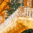 Sonug Eisregen Lichterkette (200 LED, 5 Meter, Warmweiß, für Innen & Außen) für 12,79€ inkl. Versand (statt 20€)