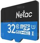 Netac P500 Class 10 32GB microSDHC für 3,49€ inkl. Versand