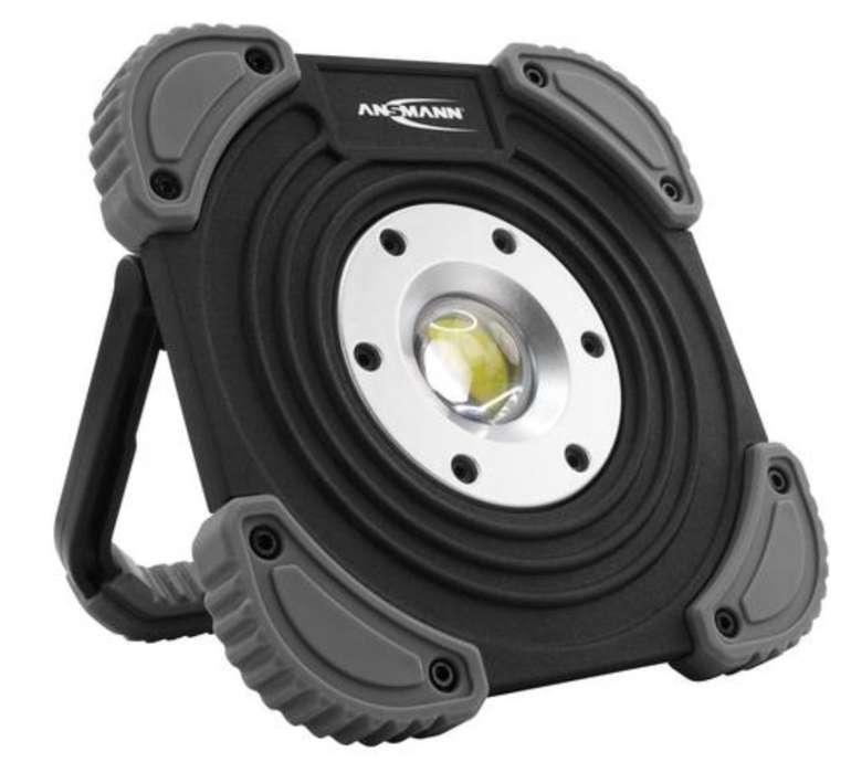 Ansmann FL1400R Arbeitsstrahler (10W COB LED, 1400 Lumen, 3820 Lux, 6500K, 4000mAh, IP64) für 19,99€