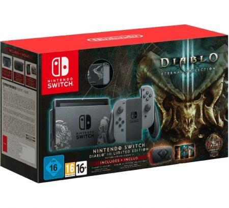 Nintendo Switch Konsole - Diablo III Edition für 292,95€ inkl. VSK (statt 365€)