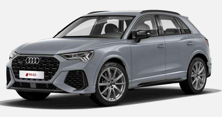 Gewerbleasing: Audi RS Q3 S tronic mit 400 PS für 459€ netto mtl. (LF: 0.83, Überführung: 899€)