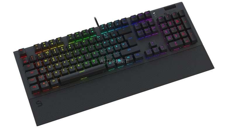 SPC Gear GK650K Omnis Kailh Blue RGB Gaming-Tastatur für 76,89€ inkl. Versand (statt 94€)