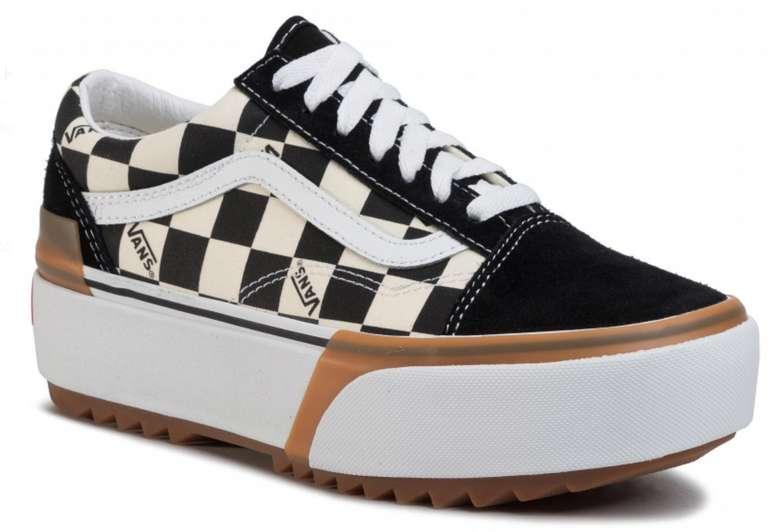 Vans Old Skool Stacked Damen Sneaker im Checkerboard-Design für 66,50€inkl. Versand (statt 80€)