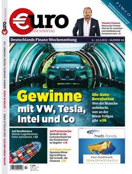 """13 Ausgaben """"Euro am Sonntag"""" Magazin für 58,50€ + 60€ BestChoice Gutschein"""