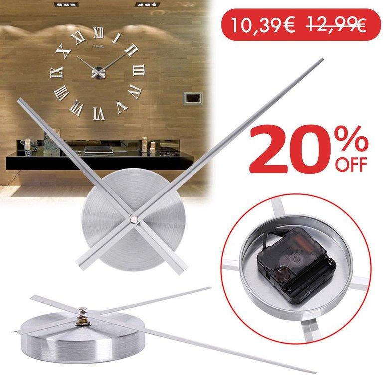 Zwei gute Uhren Angebote auf eBay, z.B Wanduhr Zeigersatz für 10,39€ (statt 13€)