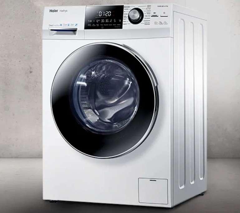 Haier HW80-BD14756 Waschmaschine (A+++, 8kg, 1.400 U/min) für 337,49€ inkl. Versand (statt 429€)