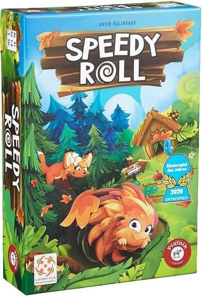 Brettspiel: Speedy Roll (Kinderspiel des Jahres 2020) für 10,99€ inkl. Versand (statt 19€)