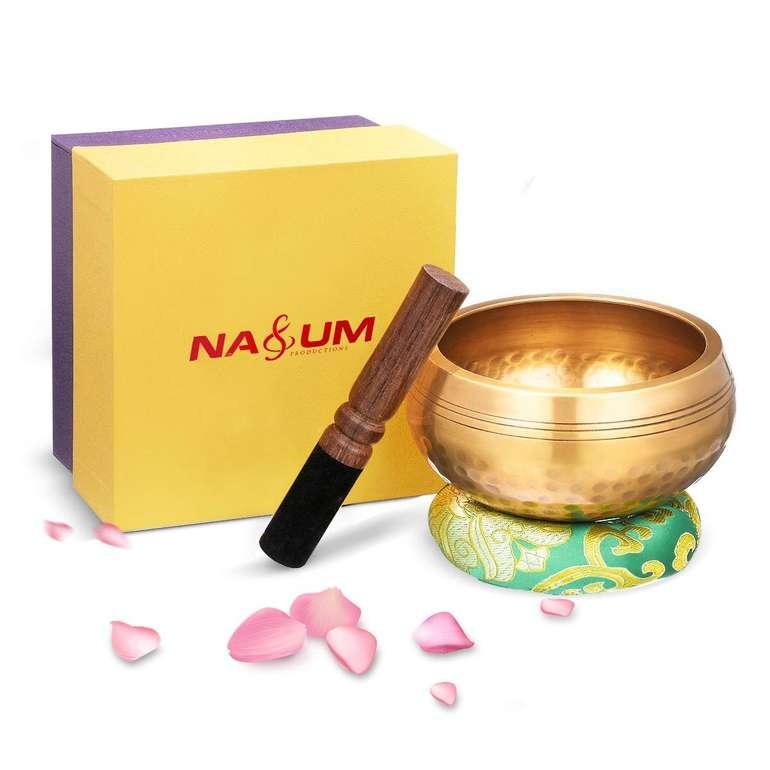 Nasum tibetisches Klangschalen Set (11 cm) für 18,89€ inkl. Prime Versand (statt 24€)