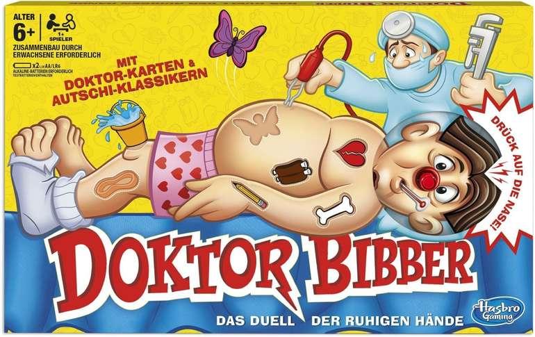 Hasbro Gaming B2176398 - Dr. Bibber Kinderspiel für 21,98€ inkl. Prime Versand (statt 27€)