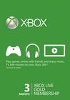3 Monate Xbox Live Gold Mitgliedschaft für 9,09€