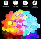 Minger 10m RGB Lichterkette mit 100 LEDs & Fernbedienung für 7,99€ mit Prime!