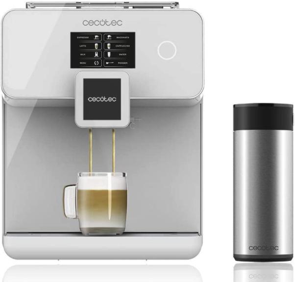 Cecotec Cumbia Power Maticccino 8000 Kaffeemaschine mit Touchscreen für 349€inkl. Versand (statt 399€)