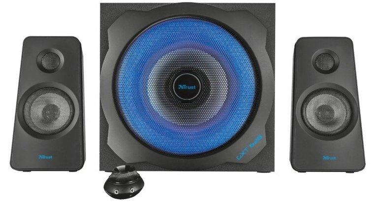 Trust GXT 628 - 2.1 Illuminated Speaker Set (Limited Edition) für 55€ (statt 69€