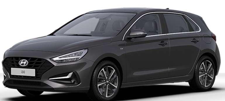 Gewerbeleasing: Hyundai i30 mit 120 PS für 108,40€ netto mtl. (LF: 0.49, Überführung: 890€)