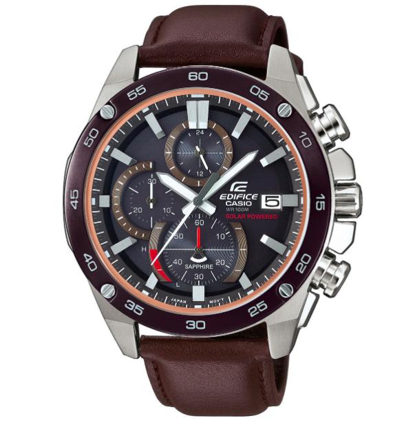 "Casio Herren Chronograph Edifice ""EFS-S500BL-1AVUEF"" ab 99,99€ (statt 167€)"