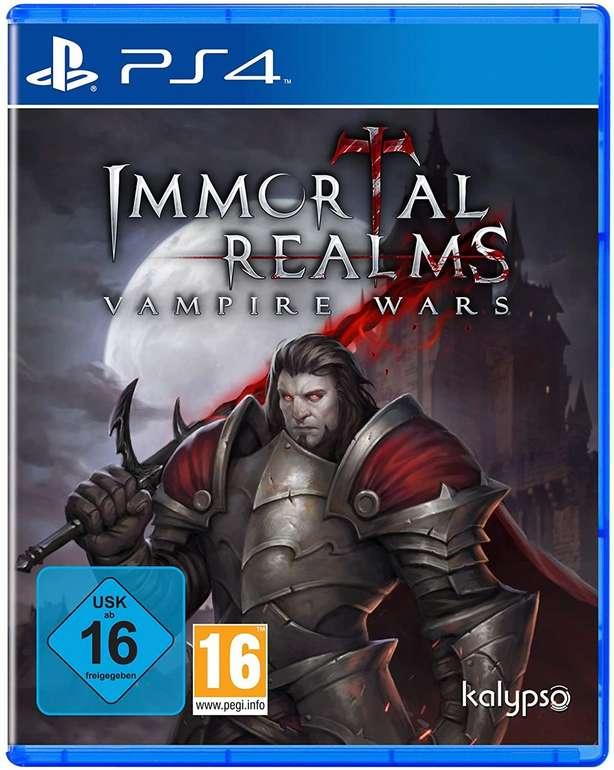 Immortal Realms: Vampire Wars (Playstation 4) für 9,99€ inkl. Prime Versand (statt 16€)