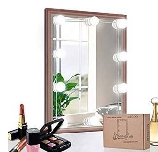 Ulycool LED Spiegelleuchte für Schminkspiegel (Hollywood Stil) ab 16,72€ (Prime)