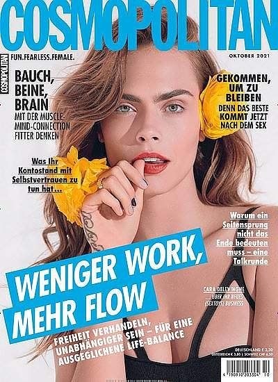6 Ausgaben Cosmopolitan + Reisenthel Shopper M + 25€ Zalando-Gutschein oder 20€ Barprämie für 22,80€