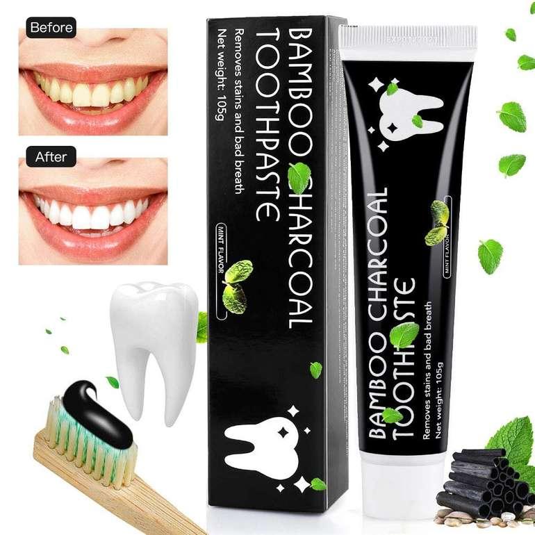 MayBeau Aktivkohle Zahnpasta mit Zahnaufhellung für 3,50€ inkl. Prime Versand (statt 10€)