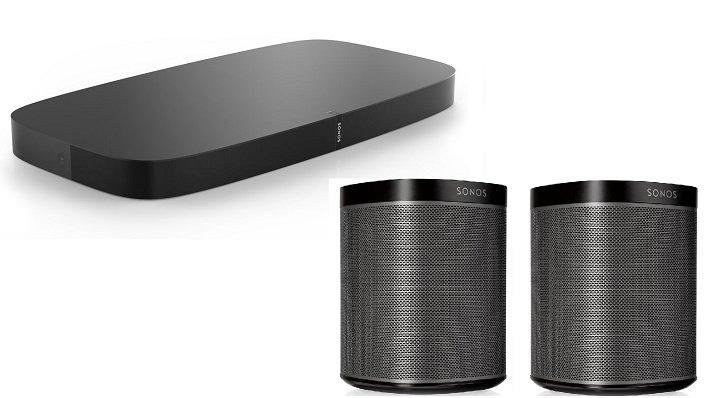 Sonos Playbase in Weiß und Schwarz für je 640€ inkl. Versand (statt 725€)