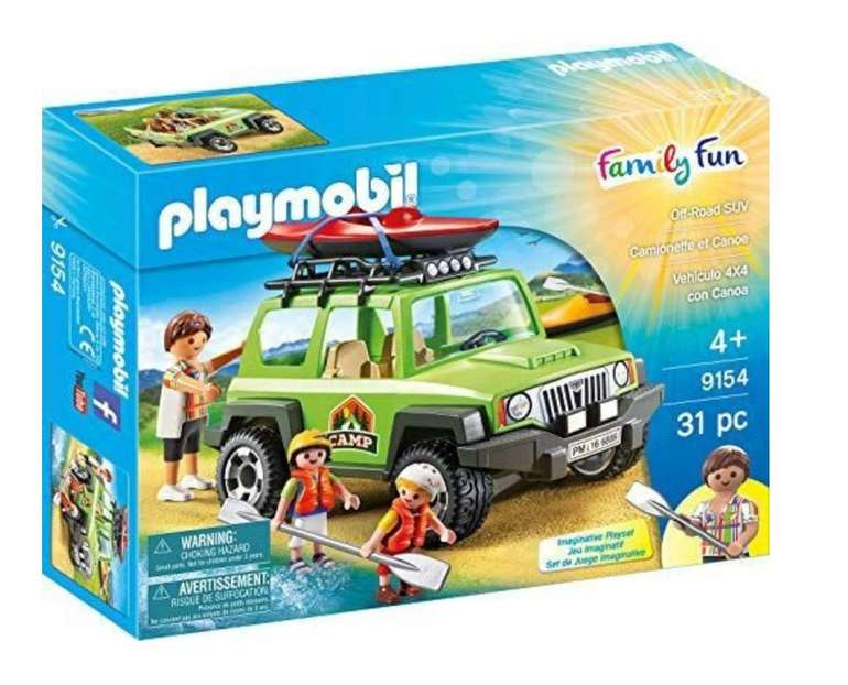 Playmobil - Off Road SUV (9154) für 16,94€ inkl. Versand (statt 25€)