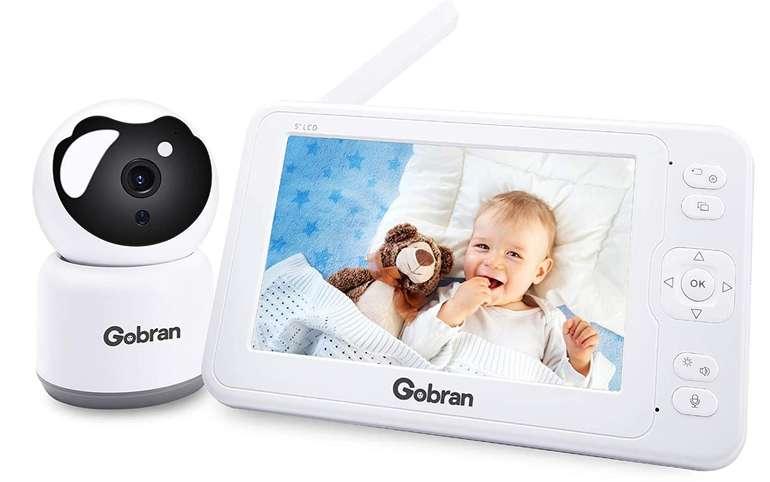 "Gobran Babyphone mit 5"" Monitor (1080P, Temperatursensor) für 67,49€ inkl. Versand (statt 127€)"