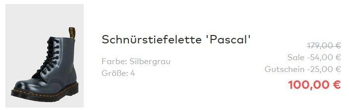 Dr. Martens 1460 Pascal Schnürstiefeletten