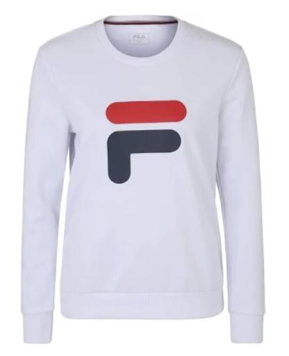 Fila Sweater 'Richie' in weiß für Damen für 29,66€ inkl. Versand (statt 40€)