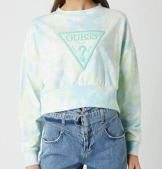 Bis 16:00 Uhr - Guess Mirtilla Fleece Cropped Sweatshirt für 41,99€ (statt 78€)