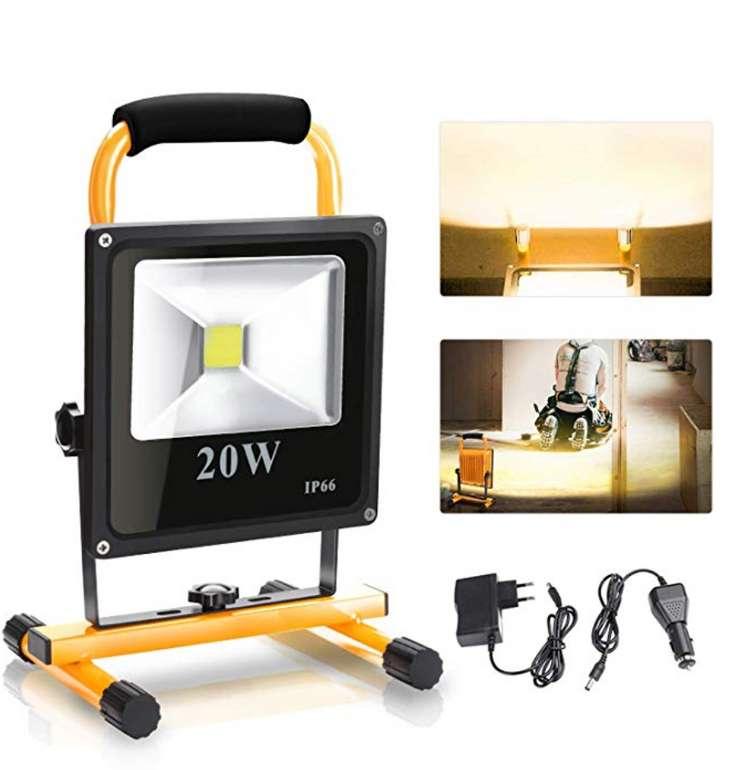 LED Baustrahler mit 20 Watt von Vingo für 16,79€inklusive Versand (statt 24€)