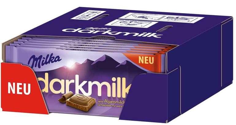 25 x 85g Milka darkmilk Alpenmilch Schokolade für 16,99€ inkl. Versand (statt 30€)