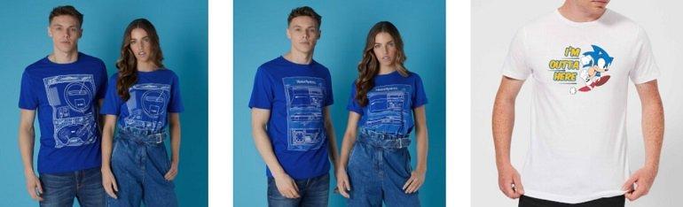Sega Bundle Sonic T-Shirt 2